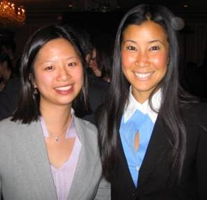 Emily Chu with Lisa Ling